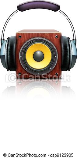 sound loud speakers - csp9123905