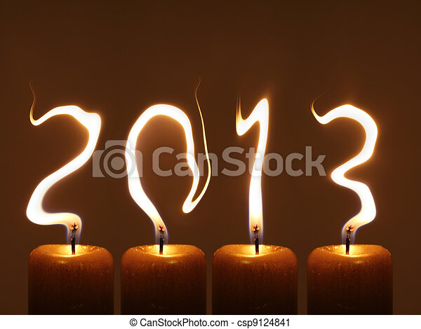 Happy new year 2013 - csp9124841