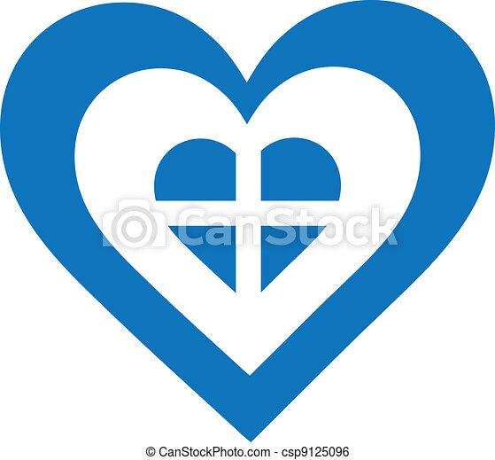 Greece Heart - csp9125096