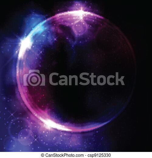 Abstract circular space design - csp9125330