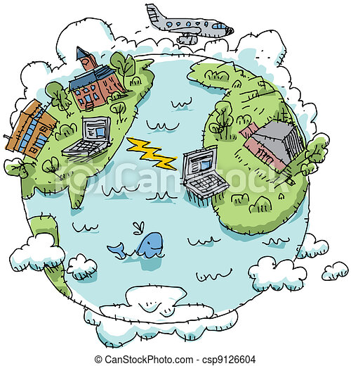 Community Drawing Global Communication
