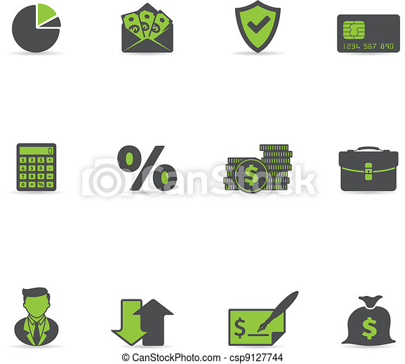Duotone Icons - More Finance - csp9127744