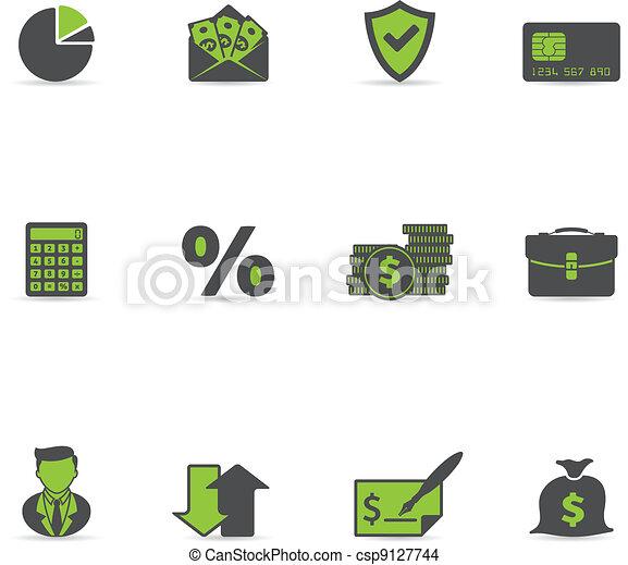 Duotone Icons - More Finance - csp9127744