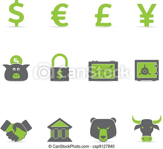 Duotone Icons - Finance - csp9127840