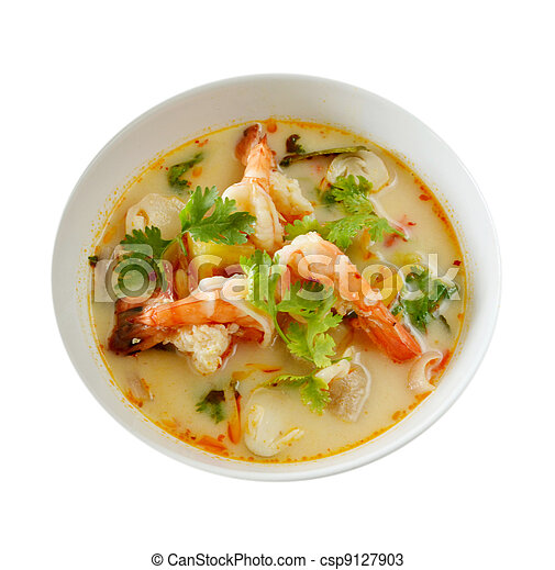 Thai Food Tom Yum Goong - csp9127903