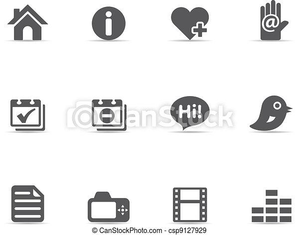 Single Color Icons - Personal Portf - csp9127929