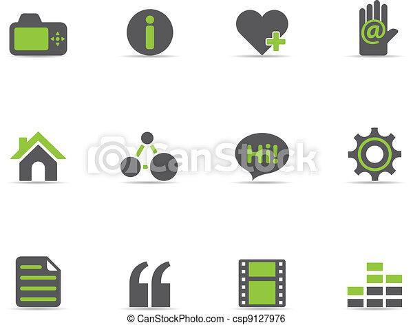 Duotone Icons - Personal Portofolio - csp9127976