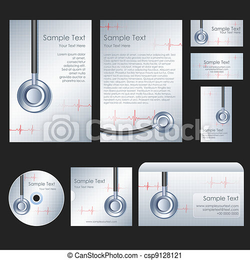 Medical Template - csp9128121