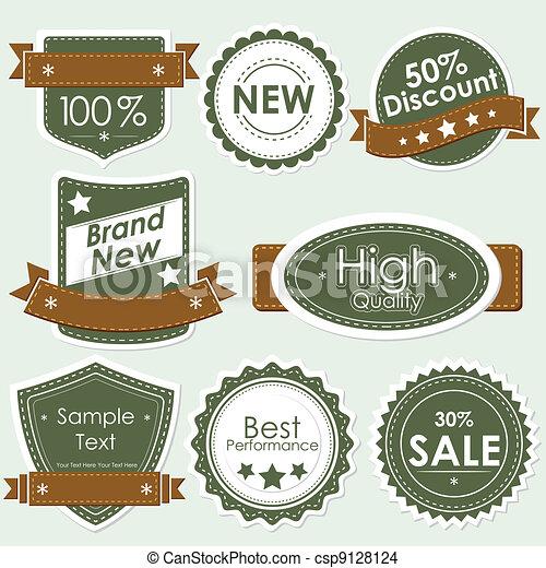 Selling Badge - csp9128124