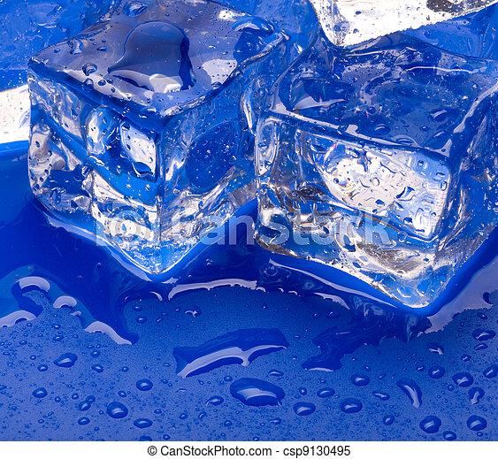 Thawing cubes - csp9130495