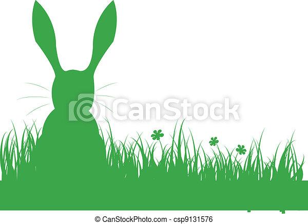 shape of a rabbit - csp9131576