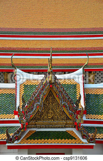 Thai Traditional Gable - csp9131606