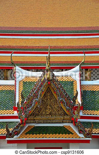 Thai Traditional Gable - csp9131606