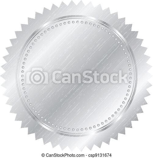 Silver seal - csp9131674