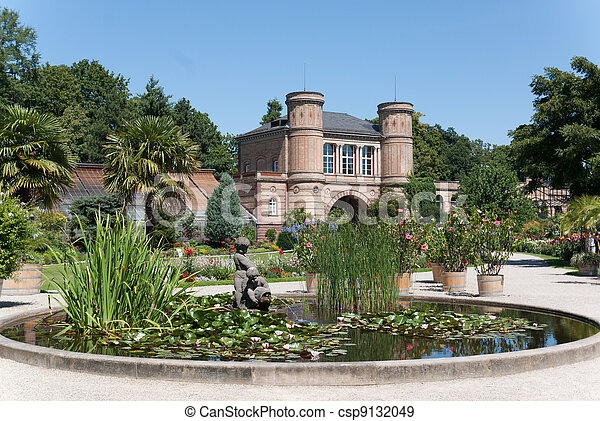 the bontanical garden of karlsruhe - csp9132049