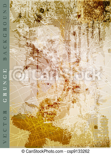 vector grunge background - csp9133262
