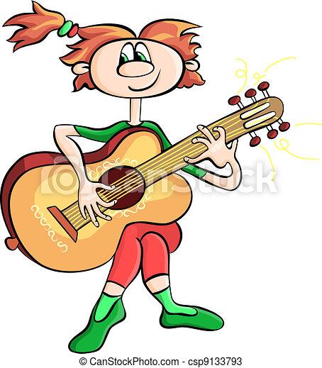 Lézard qui fait de la guitare avec une feuille  MIMIBUZZ