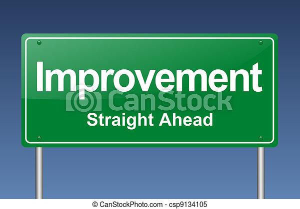 improvement traffic sign - csp9134105