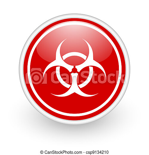 virus icon - csp9134210