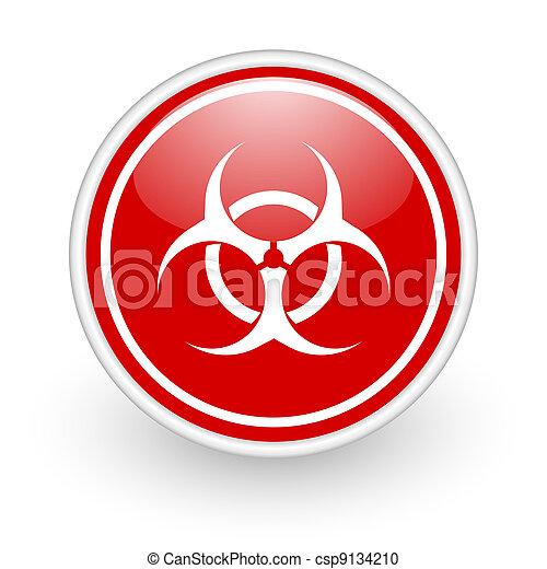 virus icon - csp9134210