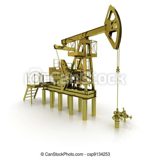 Golden Machine Oil Pump - csp9134253