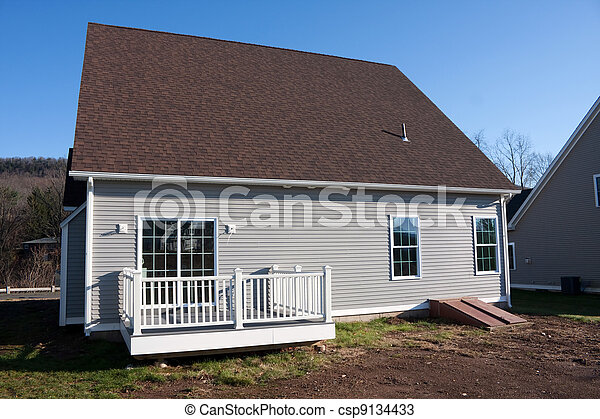 New Constructed Home with Porch - csp9134433