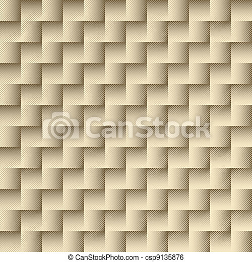 Gold repeating checkered pattern - csp9135876