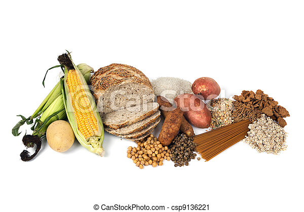 Food Sources of Complex Carbohydrates - csp9136221