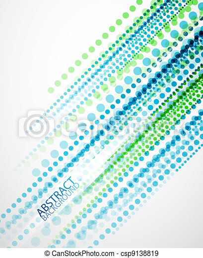 Dotted lines background - csp9138819