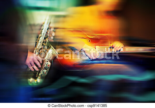 basic jazz instruments - csp9141385