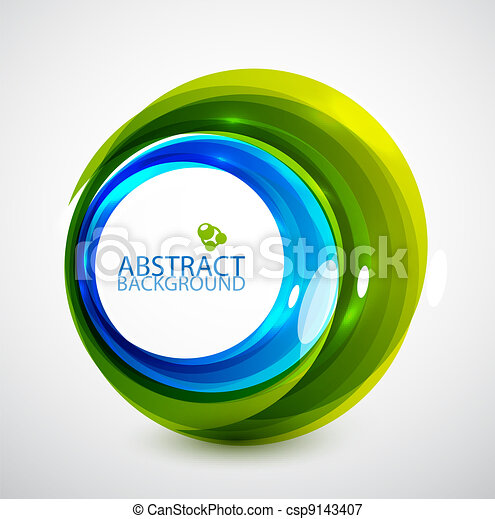 Abstract hi-tech circle - csp9143407