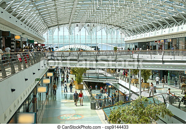 shopping center vasco da Gama, Lisboa, portugal - csp9144433