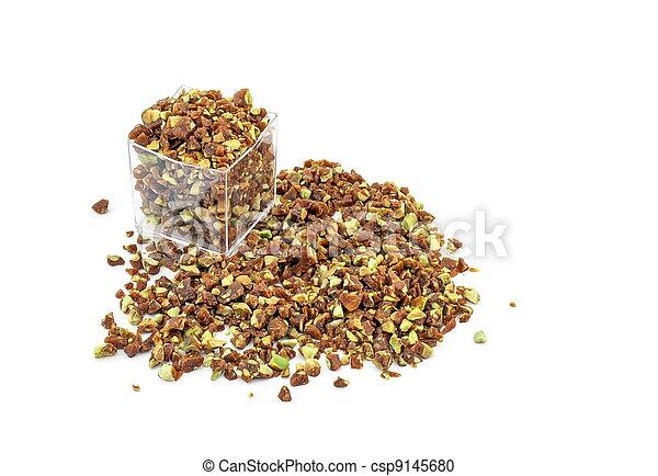 Crumbled crunchy Caramelized Pistachio - csp9145680