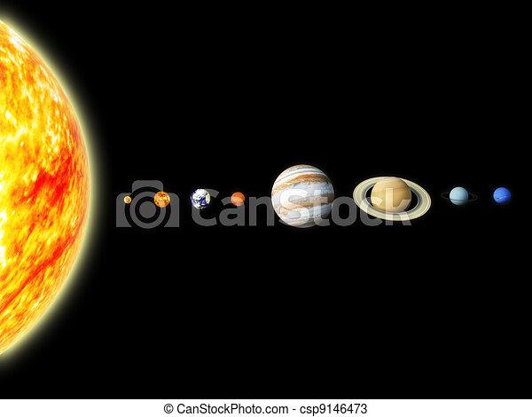 Solar system - csp9146473