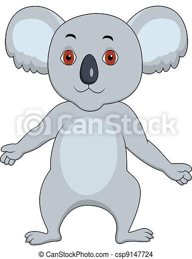 Koala cartoon - csp9147724