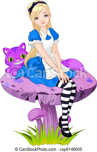 Alice in Wonderland - csp9148005