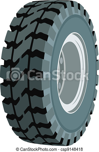 Wheel for trucks and vehicles, work - csp9148418