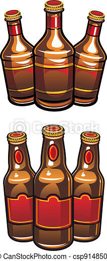 Beer bottles - csp9148508