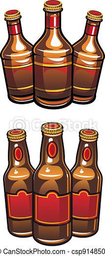 Beer bottles - csp9148508