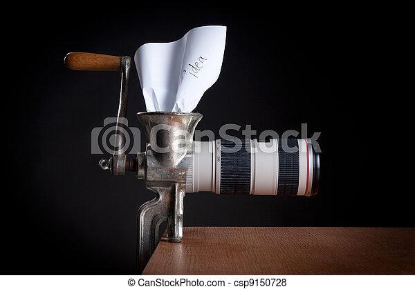 Photographer's creativity - csp9150728