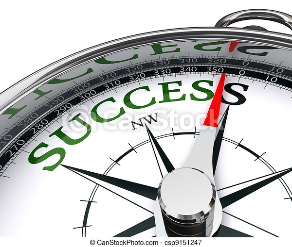 success compass conceptual image - csp9151247