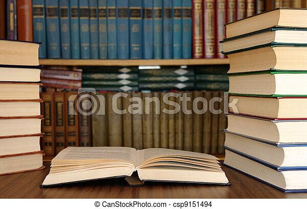 education books  - csp9151494
