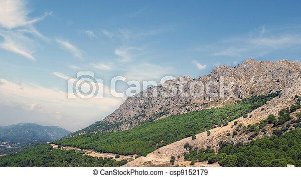 Massive landscape - csp9152179