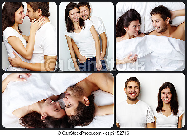 Affectionate couple - csp9152716