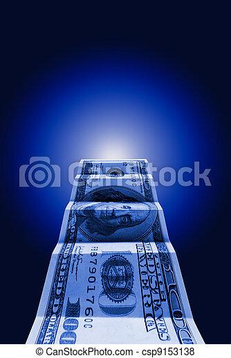The money the way - csp9153138