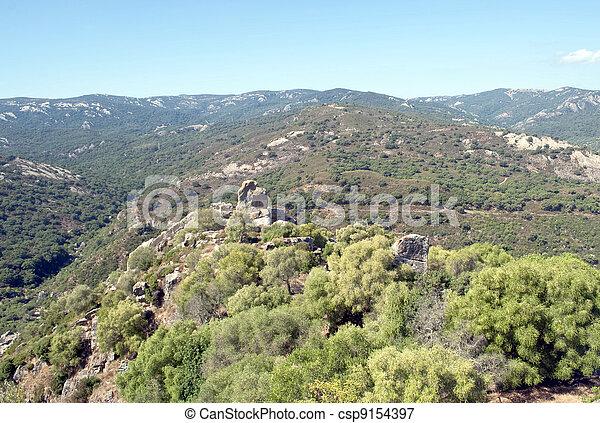 Massive landscape - csp9154397