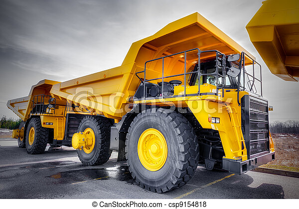 Large haul truck - csp9154818