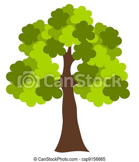 Oak tree - csp9156665