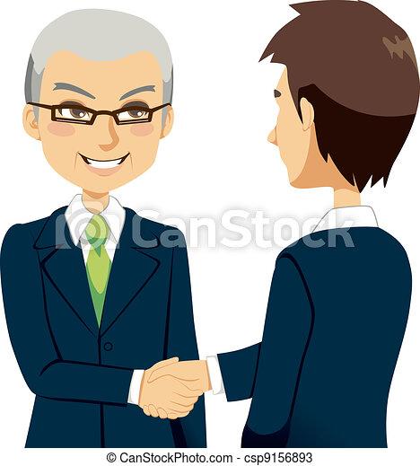 Salesman Handshake - csp9156893