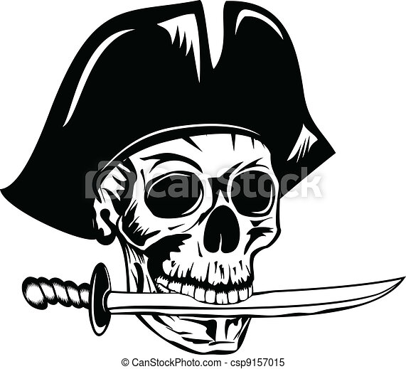 pirate with dagger - csp9157015
